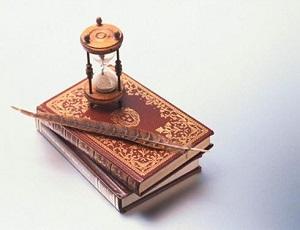 книги и часы