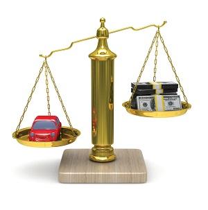 весы, машина, деньги