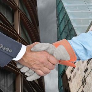 рукопожатие работодателя и работника